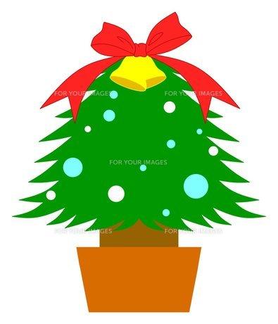 クリスマスツリーの写真素材 [FYI00145646]