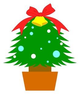 クリスマスツリーの素材 [FYI00145646]