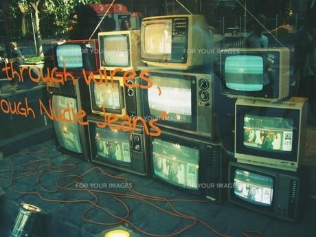 昔のテレビの写真素材 [FYI00145654]