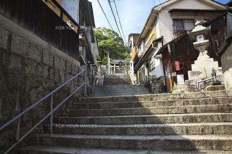 坂の町 尾道の写真素材 [FYI00145871]