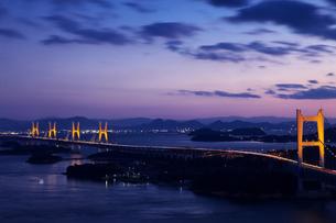 岡山 下津井瀬戸大橋の写真素材 [FYI00146397]