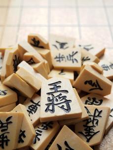 将棋の駒の写真素材 [FYI00146633]