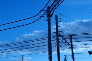 Empty poleの写真素材 [FYI00146753]