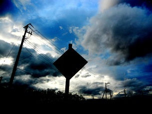 吸い込まれて行きそうな空の写真素材 [FYI00146808]