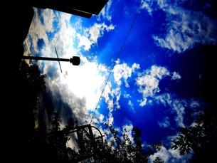 青空の写真素材 [FYI00146818]