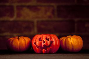 ハロウィーンかぼちゃモンスターの写真素材 [FYI00146911]