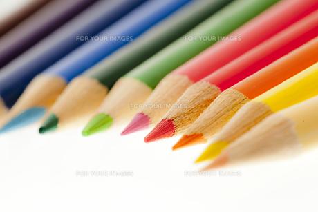 色鉛筆の写真素材 [FYI00146912]