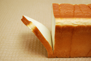 やわらかい食パンの写真素材 [FYI00147055]