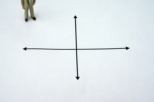 マトリクスグラフの写真素材 [FYI00147072]