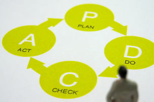 PDCA(planの写真素材 [FYI00147106]