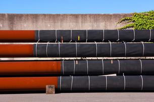 錆びた鉄管の写真素材 [FYI00147143]