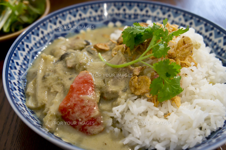 Green Curryの写真素材 [FYI00147166]