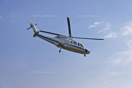 ヘリコプターの写真素材 [FYI00147196]