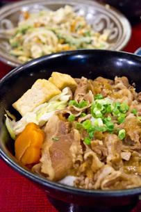 牛丼の写真素材 [FYI00147200]