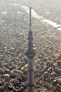 東京 空撮の写真素材 [FYI00147204]