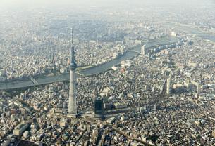 東京 空撮の写真素材 [FYI00147220]