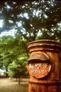 紅葉ポストの写真素材 [FYI00147322]