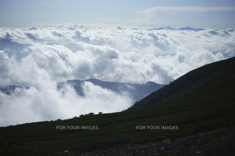 雲海の写真素材 [FYI00147491]