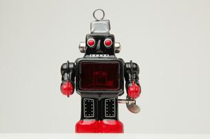 ブリキのロボット正面の素材 [FYI00147542]