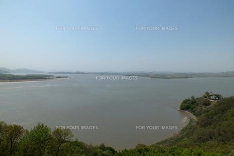 漢江とイムジン河の写真素材 [FYI00147570]