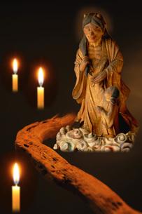 鬼子母神像の写真素材 [FYI00147571]