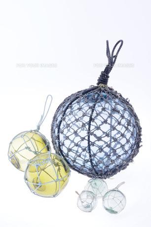 ガラス浮玉の写真素材 [FYI00147579]