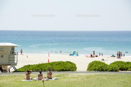 ハワイのビーチの写真素材 [FYI00147872]