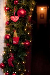 クリスマスの入口の写真素材 [FYI00147877]