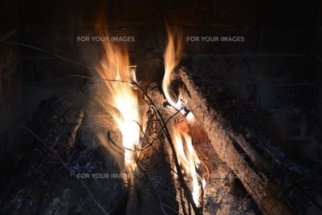 暖炉の写真素材 [FYI00148359]