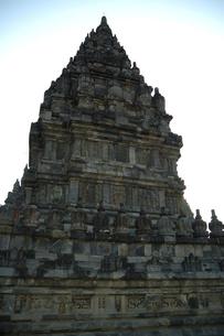 夕暮れのプラン・バナン寺院の写真素材 [FYI00148830]