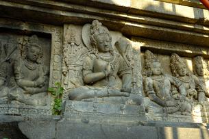 プラン・バナン寺院のレリーフの写真素材 [FYI00148831]