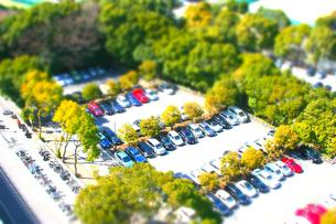 駐車場の写真素材 [FYI00148928]