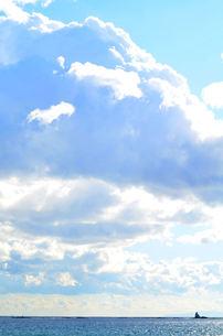 烏帽子岩の写真素材 [FYI00149026]