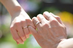 結婚指輪の写真素材 [FYI00149089]