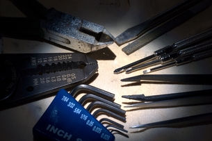 工具の写真素材 [FYI00149351]