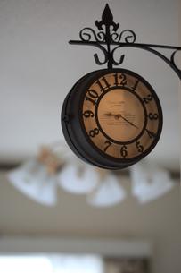 アンティーク風時計の写真素材 [FYI00149614]