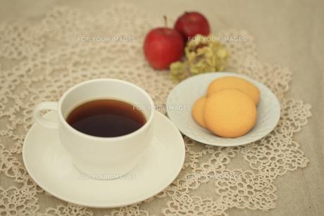 コーヒーとクッキーの素材 [FYI00149780]