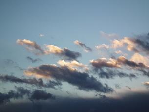 夕焼け雲の写真素材 [FYI00149786]