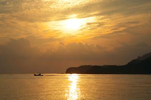 隠岐 知夫里島の夕景の写真素材 [FYI00149891]