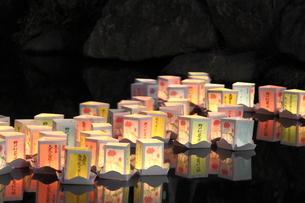 灯篭流しの素材 [FYI00150038]
