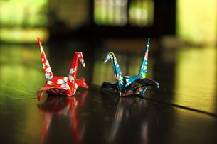 折り鶴の写真素材 [FYI00150087]