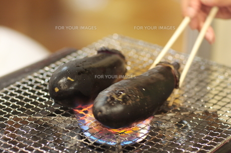 焼きなすの写真素材 [FYI00150117]