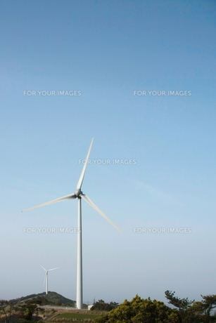 風力発電の写真素材 [FYI00150142]