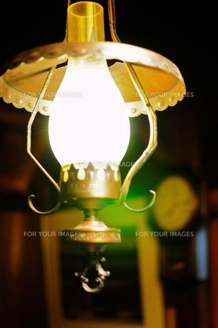 部屋の灯りの写真素材 [FYI00150198]