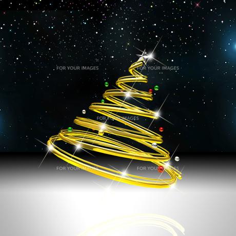 クリスマスツリーの写真素材 [FYI00150287]