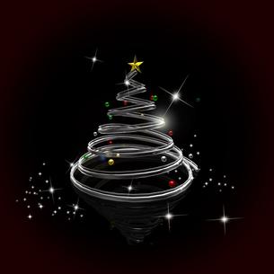 クリスマスツリーの写真素材 [FYI00150293]
