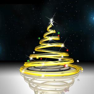 クリスマスツリーの写真素材 [FYI00150301]