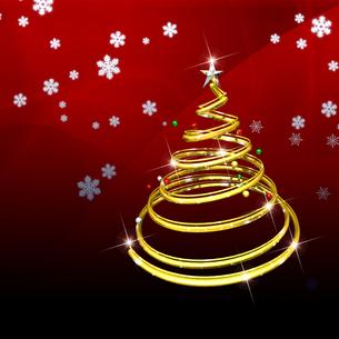 クリスマスツリーの写真素材 [FYI00150308]