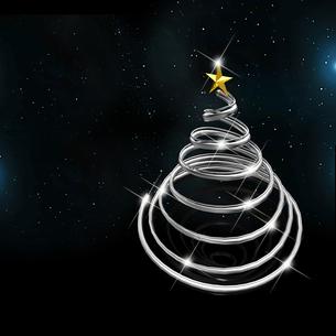 クリスマスツリーの写真素材 [FYI00150311]