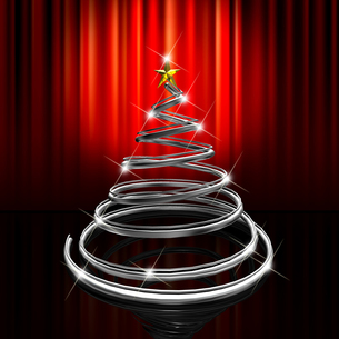 クリスマスツリーの写真素材 [FYI00150318]